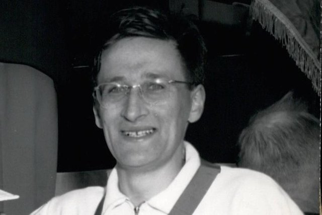 Martin Hyman pictured in 1961