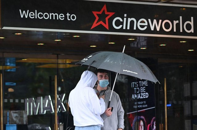 Cinemas are expected to reopen in Scotland on May 17 (Photo by JUSTIN TALLIS/AFP via Getty Images).