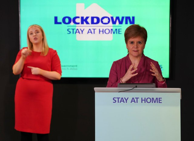 Nicola Sturgeon's daily Covid-19 briefings have been criticised by opposition parties.