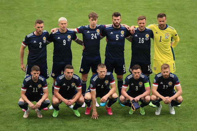 The Scotland national team will have the support of thousands of fans who have travelled to London for the game (Picture: Getty Images)