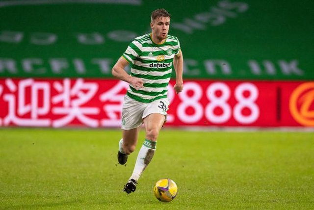 Celtic's Kris Ajer in action during a Scottish Premiership match between Celtic and Kilmarnock at Celtic Park. (Photo by Craig Foy / SNS Group)