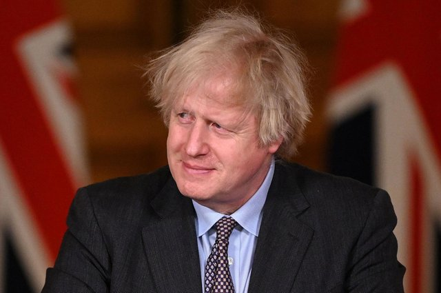 Luke Graham insists that Prime Minister Boris Johnson (pictured) can prevent the break-up of the UK