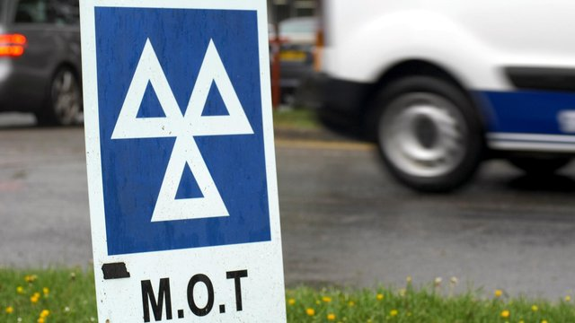 MOT test centres are predicting a rush on bookings