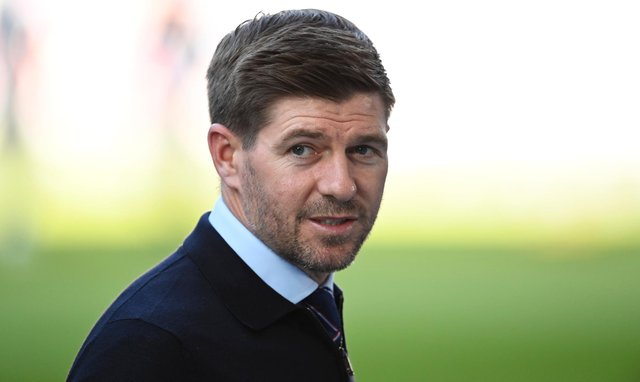 Rangers boss Steven Gerrard has recently been linked with a move to Everton. Picture: SNS