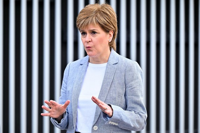 First Minister Nicola Sturgeon 'does not speak for all Scots' (Picture: Getty)