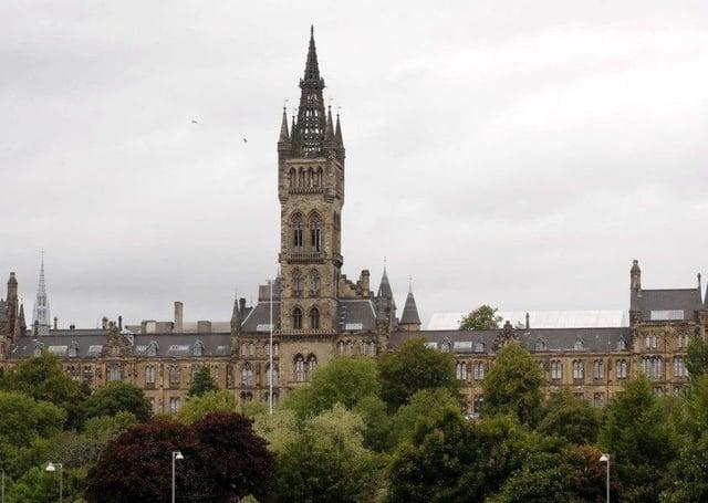 Glasgow University Tower.