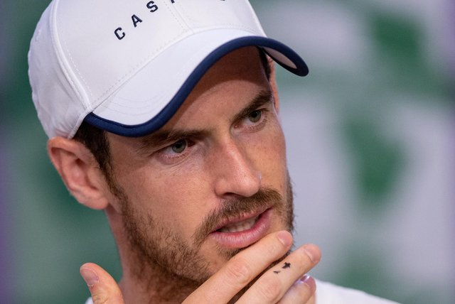 Andy Murray reveals he has quite social media after a win against Robin Haase at the ABN Amro World Tennis Tournament in Rotterdam picture: Joe Toth