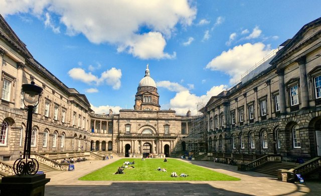 Edinburgh University students were attacked during a Zoom meeting (Shutterstock)