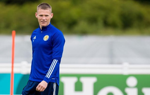 Scotland midfielder Scott McTominay is relishing his return to Wembley where he first played as an 11-year-old for his school team. (Photo by Ross Parker / SNS Group)