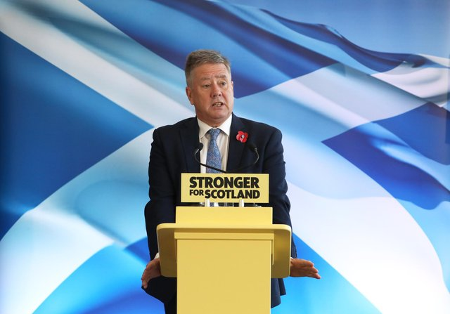 Scottish National Party (SNP) deputy leader, Keith Brown, said a white paper for independence wouldn't necessarily be what actually happens in an independent Scotland.