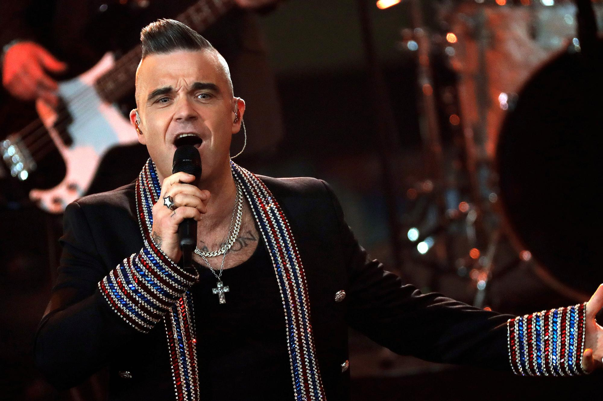 Robbie Williams' new Christmas song is the worst ever – Aidan Smith   The Scotsman