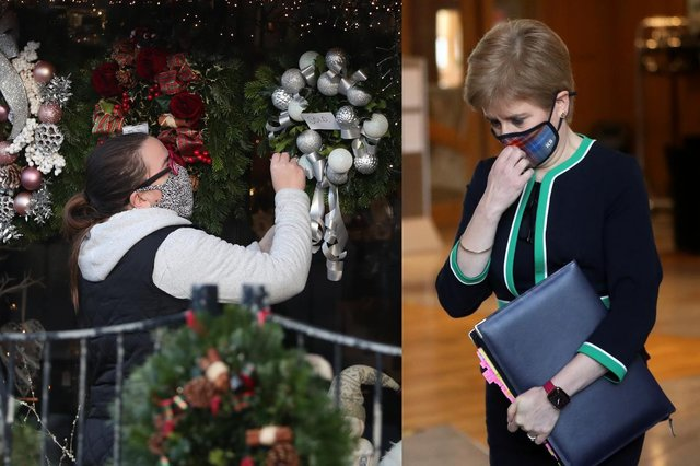 First Minister Nicola Sturgeon said rules are likely to tighten for the Christmas period picture: PA