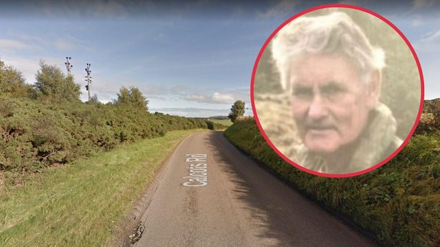A body has been found off ofCalcots RoadinElgin, following appeals for missing person Ronald Kemp, 75 (Photo: Police Scotland and Google Maps).