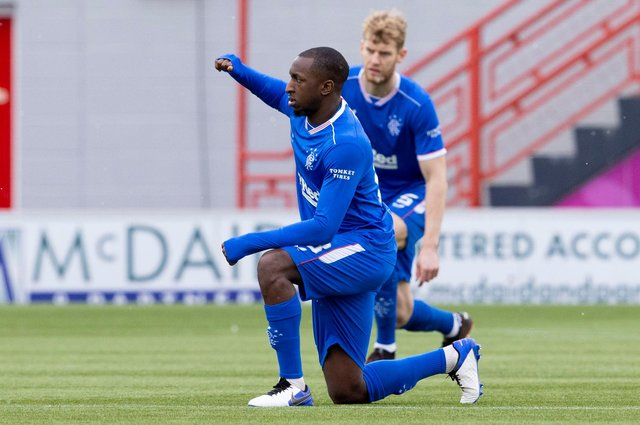 Glen Kamara continues to show his quality in the Rangers midfield. Picture: SNS
