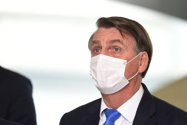 Jair Bolsonaro has opted for an anti-lockdown rhetoric throughout the pandemic (Getty Images)