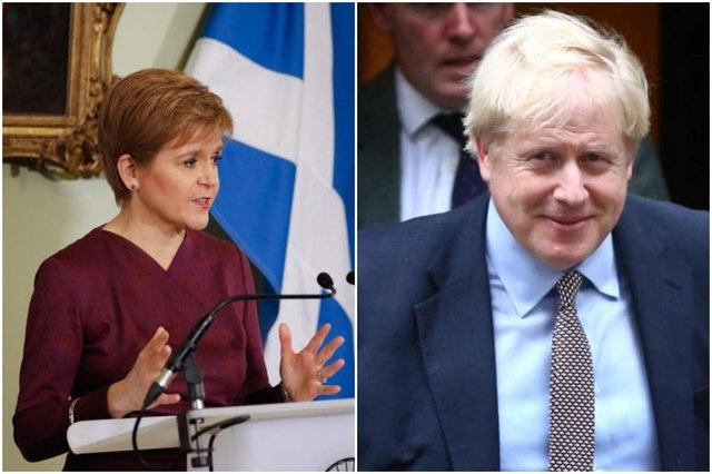 A BBC poll suggests significantly more people believe Nicola Sturgeon has handled the pandemic better than Boris Johnson has.