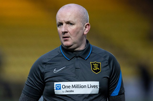 Livingston boss David Martindale saw his side defeat Raith Rovers to advance in the Scottish Cup. Picture: SNS