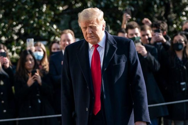 US president Donald Trump is facing a second impeachment from the House. (Pic: Getty Images)