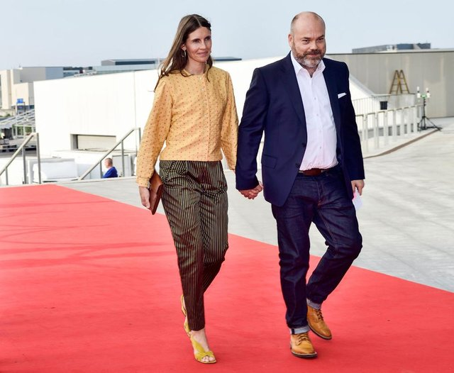 Billionaire Anders Holch Povslen and his wife Anne Holch Povlsen (Getty Images)