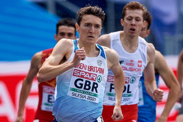 Jake Wightman competes in the Diamond League 1,500m tonight, his final competitive race before the Tokyo Olympics.