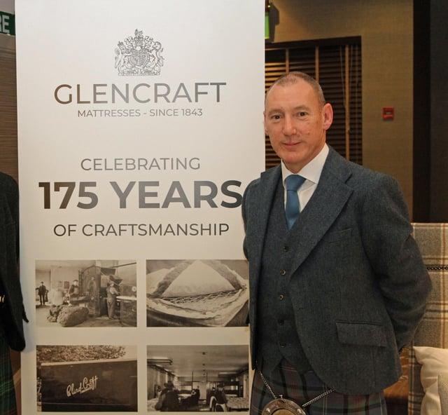 Graham McWilliam, Managing Director of Glencraft