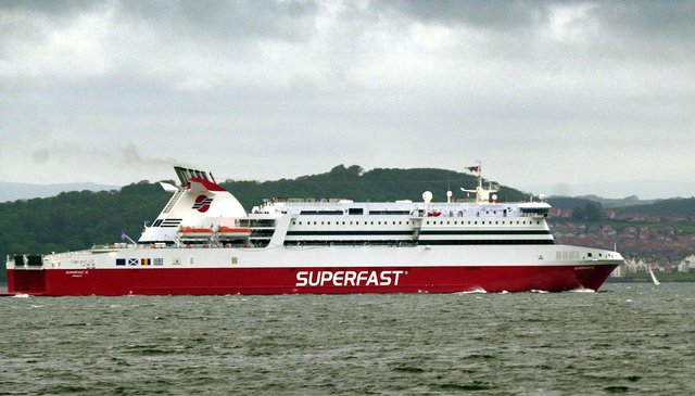 Superfast operated a ferry from Rosyth to Zeebrugge from 2002 until 2008