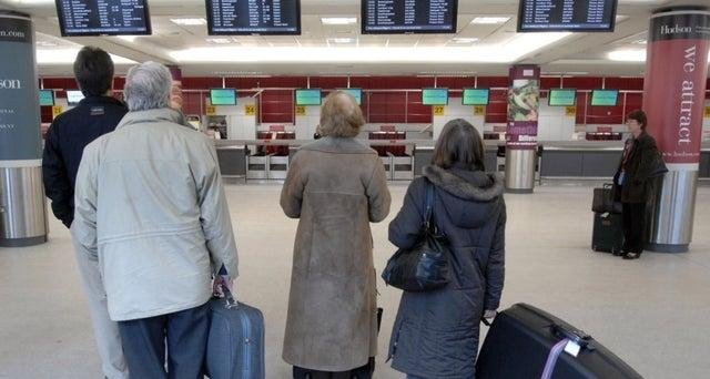 Scots are struggling to find flights to get them home