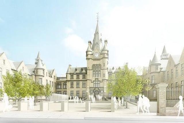 The Edinburgh Futures Institute is under construction