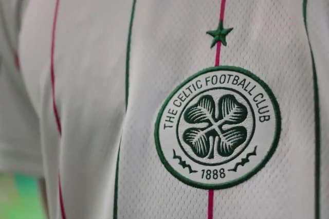 The new Celtic third kit. Picture: Contributed
