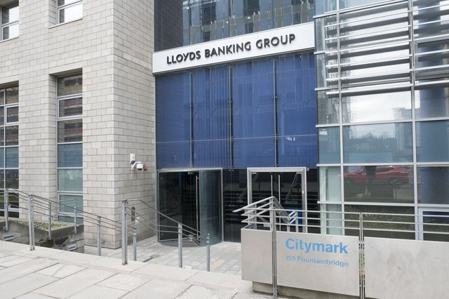 Lloyds Banking Group is the owner of Bank of Scotland. Picture: Ian Rutherford