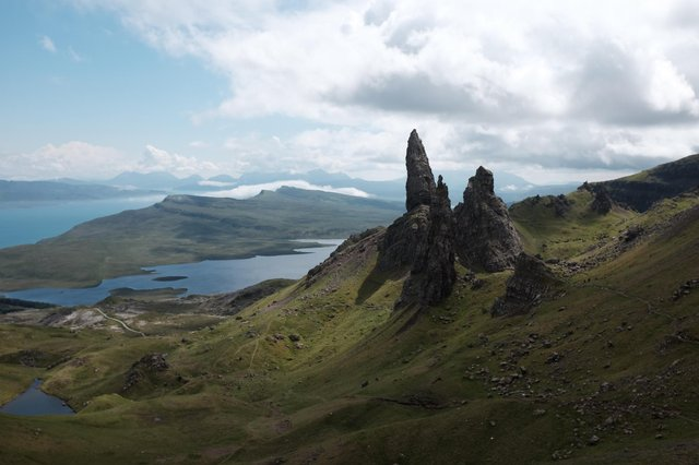 A Viking-era hoard of silver was found close to the Old Man of Storr in Skye with it believed the island was home to several important Viking power centres. PIC:CC/Matt Thornhill