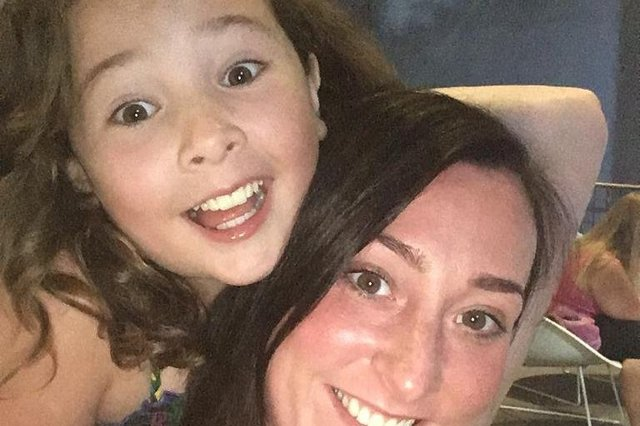 Kimberly Darroch and her daughter Milly Main, who died at the age of 10 in 2017. Milly had leukaemia from the age of five, but was in remission before contracting an infection at the QEUH.