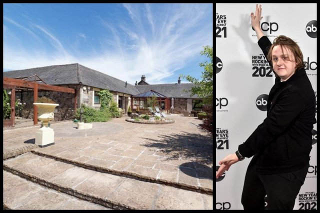 Capaldi's new home will be renovated to include a media room, home gym and glass-front facing (Picture: McEwan Fraser homes/Getty Images)