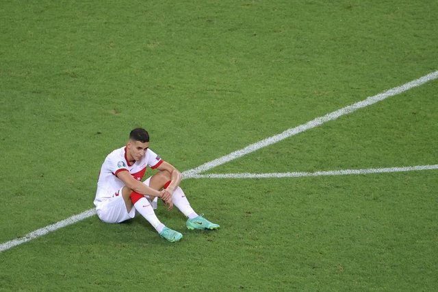 Turkey were eliminated following defeats to Italy, Wales and Switzerland (Getty Images)
