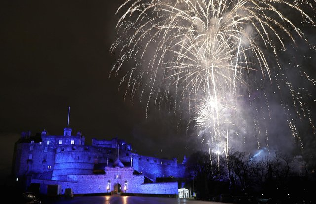 The new restrictions would make organised displays like this in Edinburgh one of the only ways to see fireworks.