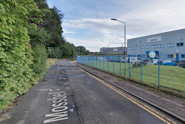 Mossbell Road: Extra fire engines sent to large blaze at industrial site