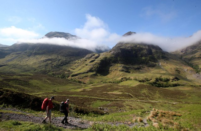 Scotland's 'right to roam' law was designed to formalise the right for people to be able to enjoy great outdoors without fear of prosecution (Picture: Andrew Milligan/PA Wire)