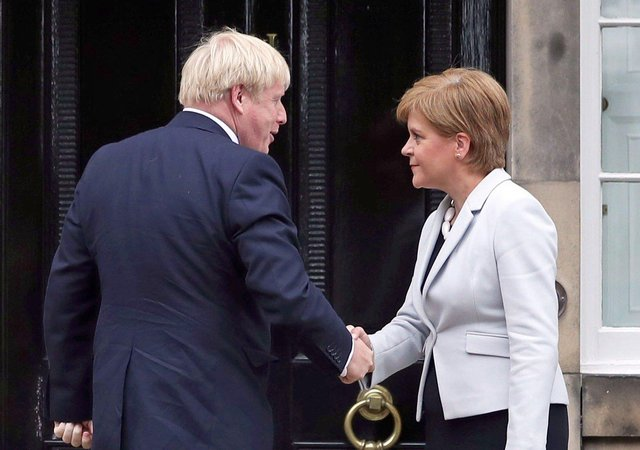 New claims have emerged about Boris Johnson's views on devolution and the Scottish Parliament.