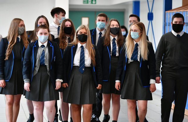 """Professor Calum Semple said it was """"inevitable that we will see a rise in cases"""" as schools go back, but it was not so important if the reproduction number (the R) rose slightly."""