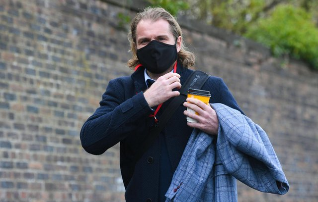 Hearts manager Robbie Neilson at Cappielow.