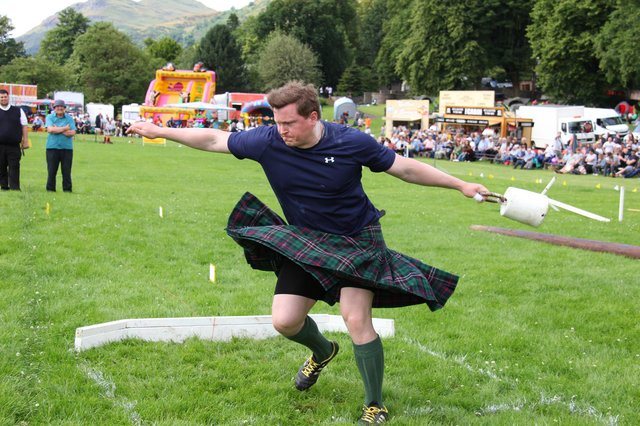 Highland Games events are normally worth £25 million to the Scottish economy. Picture: Bill Robertson