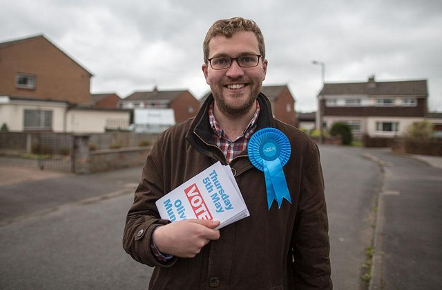 Oliver Mundell has resigned from the Shadow Cabinet after voting against the party whip over concerns of the impact border restrictions would have on communities in his constituency. (Photo by Matt Cardy/Getty Images)