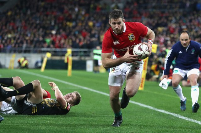 Tommy Seymour scored tries freely in provincial matches on the 2017 tour of New Zealand and was unlucky not to play in a Test. Picture: David Rogers/Getty Images
