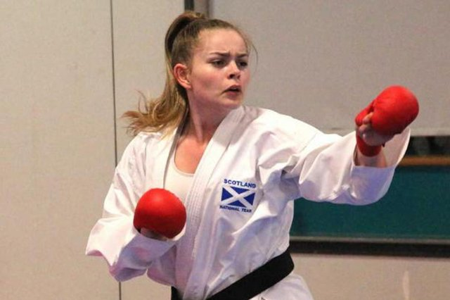 Niamh Junner is No 1 in the World Karate Federation female under-21 rankings.