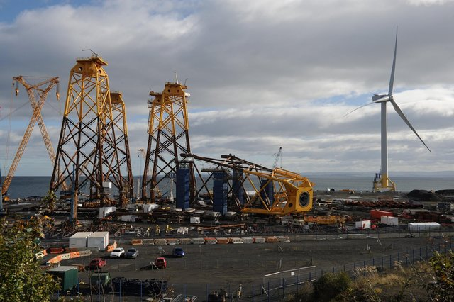 Burntisland Fabrications (BiFab) entered administration following the collapse of a £2 billion contract to build turbine jackets.