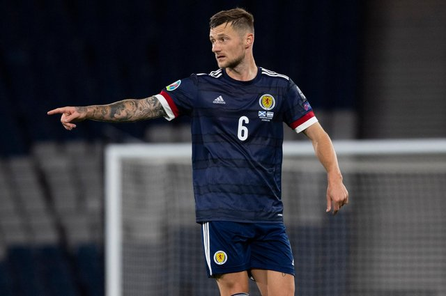 Scotland defender Liam Cooper: happy to play anywhere in defence (Photo by Alan Harvey / SNS Group)