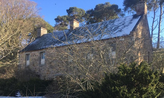 The 17th century building is believed to have lain empty for six years. Picture: Janet Moxley