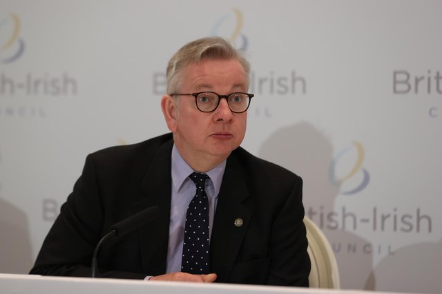 Michael Gove criticised the English votes for English laws rule