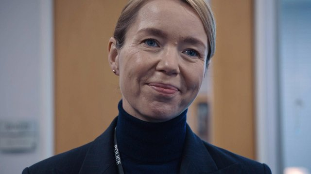 DCS Carmichael was introduced to Line of Duty viewers in the fifth season (C) World Productions - Photographer: Screen Grab