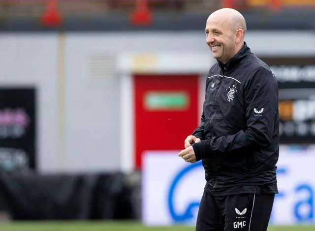 Rangers' assistant manager Gary McAllister. (Photo by Alan Harvey / SNS Group)
